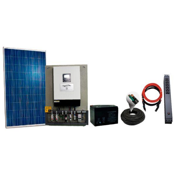 kit solar 330W