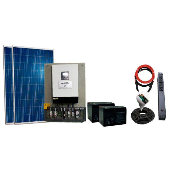 Foto kit solar 540w